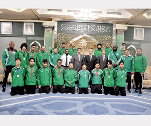 أخضر الكاراتيه ثانيا في البطولة العربية