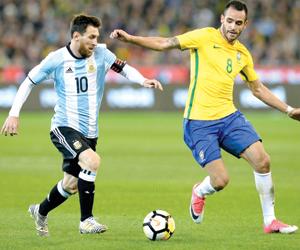 سامباولي يقود التانجو للفوز على البرازيل