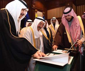 أمير الكويت: مواقف الملك فهد تجسدت في أصعب المحن