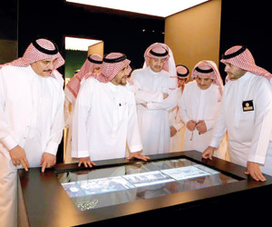 الملك سلمان يرعى افتتاح معرض الفهد روح القيادة