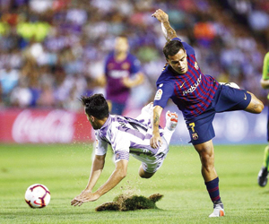 برشلونة أمام بلد الوليد لإنهاء سلسلة التعادلات