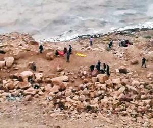 21 ضحية في فاجعة البحر الميت