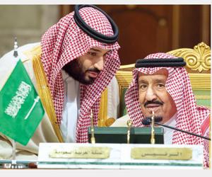 خادم الحرمين: نواجه تحديات تهدد أمننا الخليجي وإير
