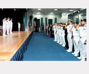البحرية السعودية تسلم قيادة قوة الواجب المختلطة لل
