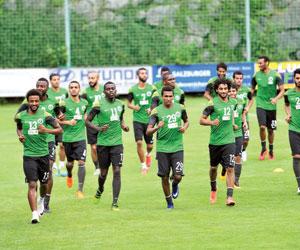 منتخبات المجموعة الآسيوية الثانية تدخل مرحلة الودي