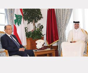 قطر ترشو عون بـ75 مليون ريال لدعم حزب الله ومناهضة