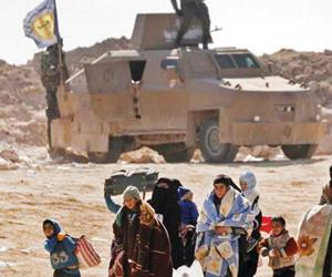 مصرع 84 سوريا أثناء الفرار من داعش