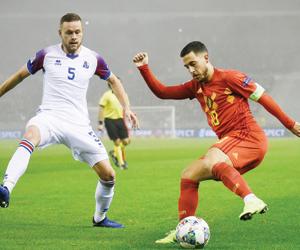 بلجيكا تنتظر نقطة لضمان التأهل