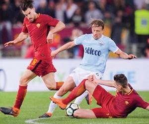 روما ولاتسيو يتصارعان على البطاقات الأوروبية