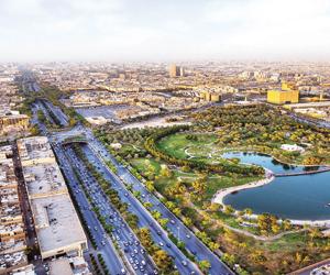مشروع الرياض الخضراء يعيد حرارة الصيف إلى ما قبل 6