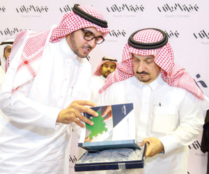 أمير الرياض رئيسا فخريا لمجلس شباب الأعمال