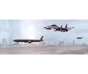 مقاتلات قطرية تهدد طائرة مدنية إماراتية