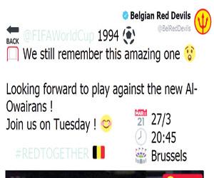 البلجيكيون يترقبون لقاء رفاق العويران الجدد