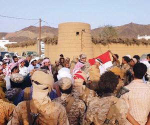 التحالف يحرر إحدى قرى صعدة ويعيد الأهالي