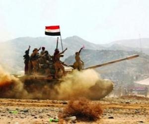 الجيش اليمني يؤمن عددا من المواقع المحررة بالجوف