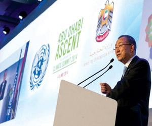 مؤتمر المناخ فرصة استثنائية للاتفاق على مواجهة الأ