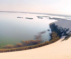 ميلان الأرض يحدد فيضانات بحيرة الأصفر