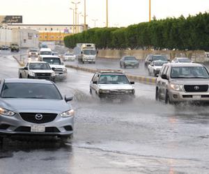 أمطار الوسم وتقلباتها الجوية  تعم المناطق وتخفض ال
