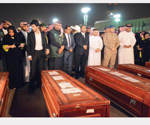 ضحايا الألغام يصلون الرياض والشرعية تندد بجرائم ال