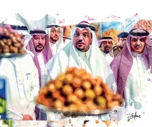أمير القصيم: تمور عنيزة من أهم مرتكزات الأمن الغذا