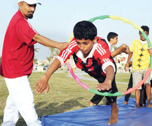 1500 مشارك في 20 فعالية رياضية بجازان