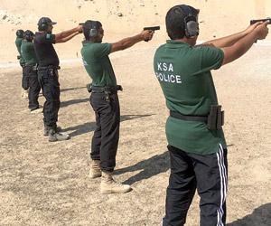 4 منتخبات سعودية في أولمبياد الشرطة