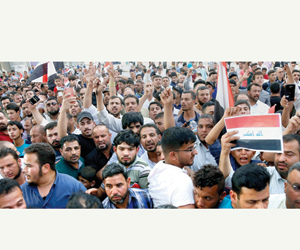 دعوات احتجاجية لتحسين أوضاع العراقيين