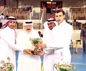 3 أبطال للمبارزة السعودية