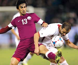 قطر بطلا لغرب آسيا