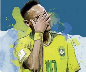نيمار يخيب آمال البرازيلييننيمار يخيب آمال البرازي