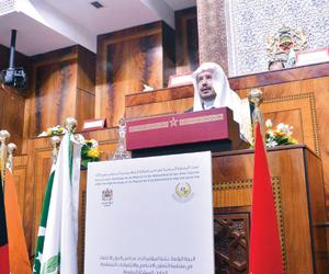 آل الشيخ: القضية الفلسطينية في مقدمة اهتمامات المم