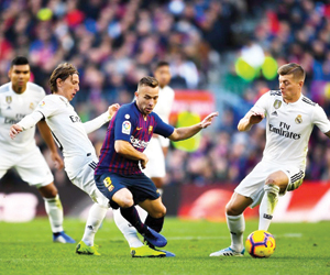 الكلاسيكو يسخن نصف نهائي كأس إسبانيا