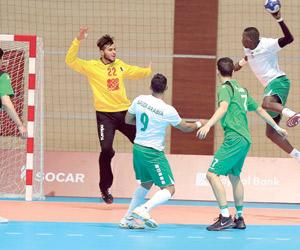 أخضر اليد يحقق أول الانتصارات السعودية