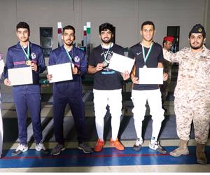 اختتام بطولة المبارزة في الحرس الوطني