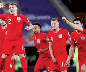 إنجلترا تتخلص من عقدة ركلات الترجيح