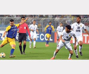 النصر إلى دور المجموعات الآسيوية