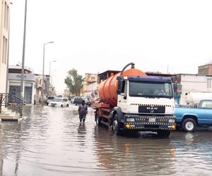 268 بلدية تتابع الأمطار آليا