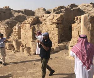 نادي الإبل السعودي يختار الفاو الأثرية ضمن مسارات