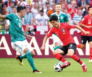 ألمانيا تودع والبرازيل  إلى ثمن النهائي