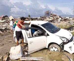 6 أعاصير وزلازل تضرب العالم  خلال أسبوعين