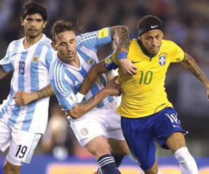 كلاسيكو الأرجنتين والبرازيل ينتهي بالتعادل