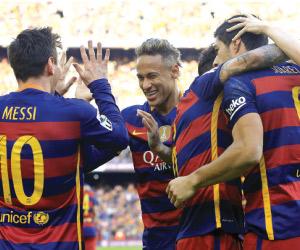 برشلونة يفض شراكة الصدارة