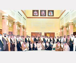 12 عضوا من الشورى في اجتماع مجلس نجران