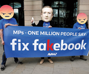 تغريم facebook لانتهاكها قانون حماية البيانات
