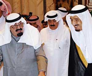 خادم الحرمين يصل الرياض قادما من روضة خريم