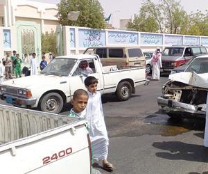 حصر المدارس الأكثر تعرضا للحوادث المرورية