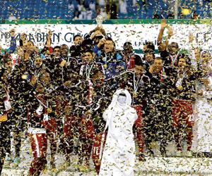 قطر تطمح إلى الكأس القارية بعد تتويجها بخليجي 22