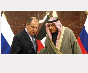 لافروف: السعودية تسعى للقضاء على الإرهاب في سورية