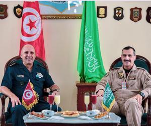 اختتام المناورات الجوية السعودية التونسية المشتركة