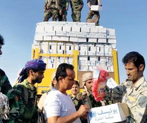 وثائق سرية تفضح دعم منظمات الإغاثة للحوثيين